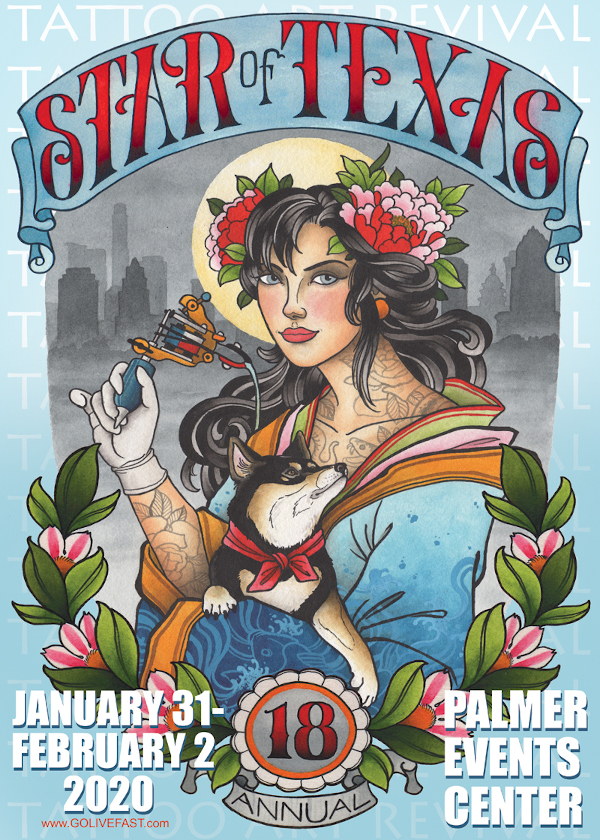 Tattoo Art Revival in Austin January 31-February 2, 2020