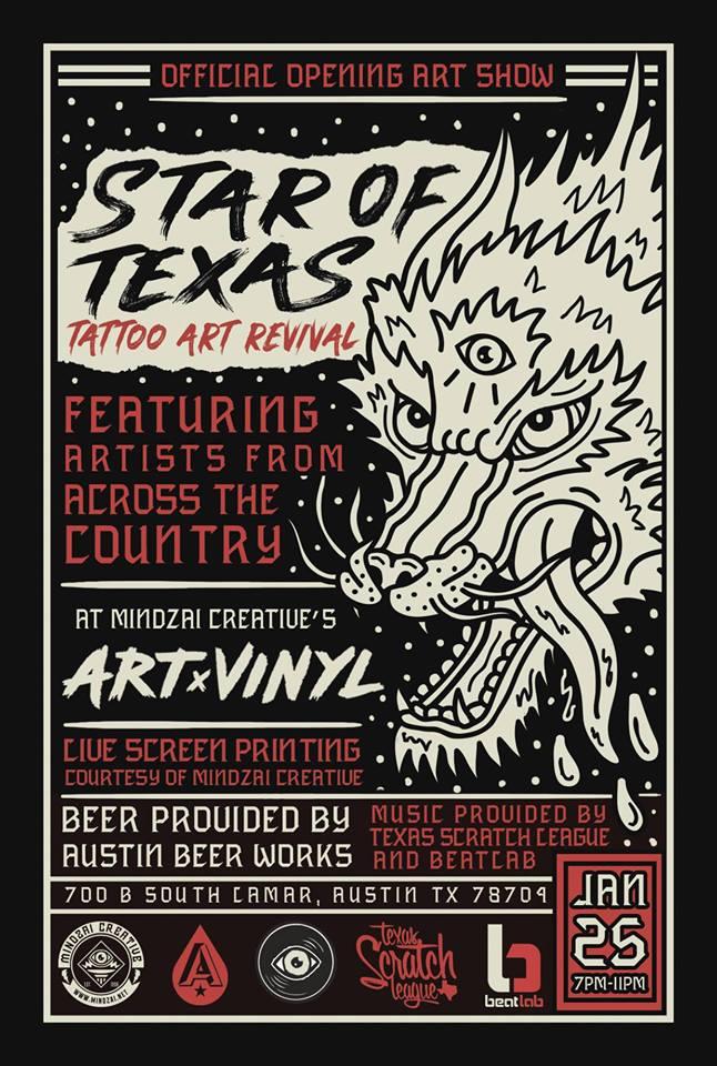 Star of Texas Tattoo Art Revival