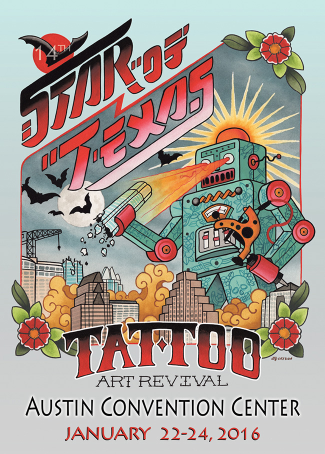 Star of Texas Tattoo Arts Revival Austin Texas January 22-24, 2016