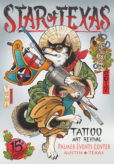 Star of Texas Tattoo Arts Revival Austin Texas January 27-29, 2017