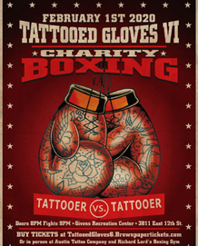 Tattooed Gloves Boxing
